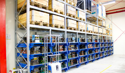 Pallet Racking Pull-Out Unit